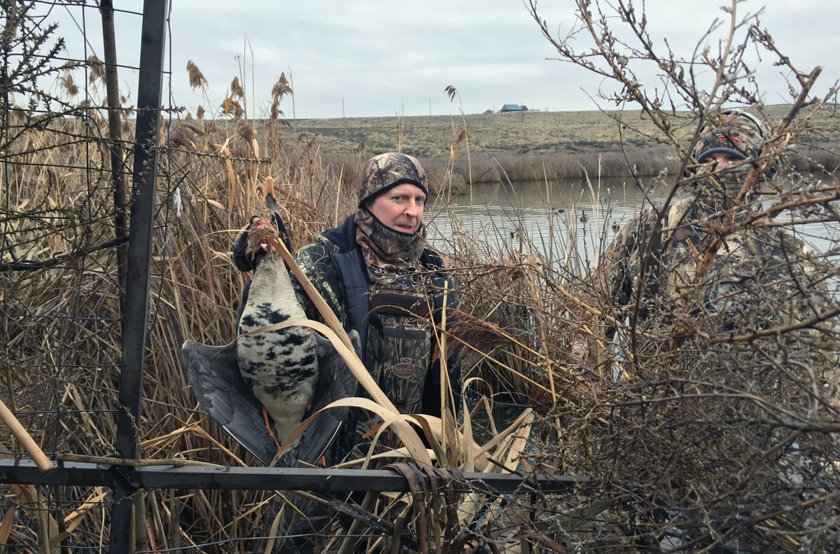Late January Hunt in Blind 9 at McNary
