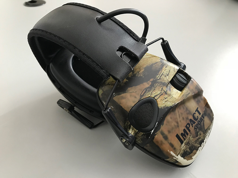 My electronic hunting hearing protection